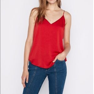 Delicate red tank